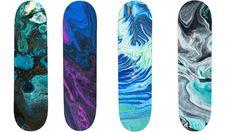Abstract marble rock skateboard decks Blank Skateboard Decks, Skateboard Grip Tape, Longboard Decks, Skateboard Shop, Skateboard Design, Custom Longboards, Custom Skateboards, Complete Skateboards, Grip Tape Designs