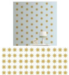 Wall Pops Gold Star Minipop Wall Decals - Wall Sticker Outlet