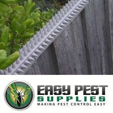 Fence Capping L-section Cat & Possum Spikes Deterrent Uv Resistant Pvc