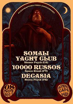 Somali Yacht Club Poster