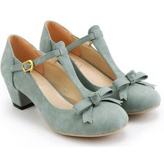 fashion shoe, kitten heels, pumps thick heel, ladies fashion, blue suede shoes, womens shoes with bows, blue shoes, pump shoes, baby blues