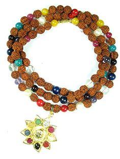Yoga Gifts- Tarini Jewels Nine Planets Navratna Chakra Japa Mala Beads Necklace Prayer Mala Mogul Interior http://www.amazon.com/dp/B00QT9VL3Q/ref=cm_sw_r_pi_dp_fRcIub1S1C7ED