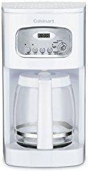 Christmas deals week Cuisinart DCC-1100FR 12-Cup Programmable Coffeemaker White (Certified Refurbished)