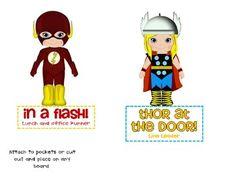 Superhero Classroom Jobs on TPT for $1.00 (super cute)