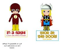Superhero Classroom Jobs on TPT for $1.00 (super cute)
