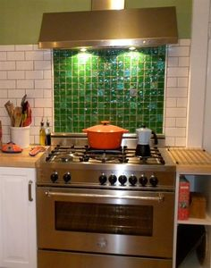 Kitchen Backsplash Green awesome lime green glass tile mosaic kitchen backsplash!! | susan