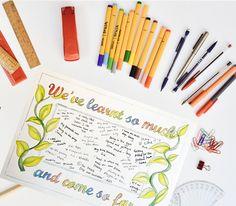 School memories poster download — Rosie Johnson Illustrates