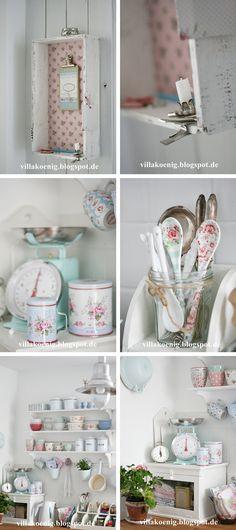 Nice shelves and beautiful Greengate