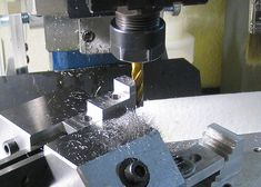 Milling new steel jaws for the Taig Three Jaw Chuck. Great set of machining instructions can be found at this website.