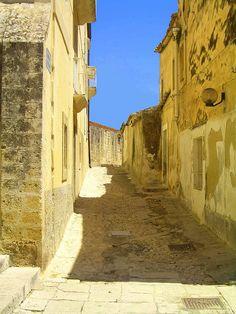 golden Noto. Sicily