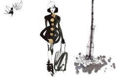Lovisa Burfitt Fashion Illustrations by pam