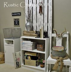 Shabby Chic Office | Decorate A Home Office Shabby Chic Style | Rustic Crafts & Chic Decor