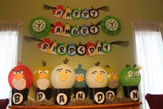 The BEST angry bird party I have seen!