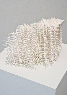 Noriko Ambe, A Piece of Flat Globe Vol. 38, 2015, Synthetic paper | Lora Reynolds Gallery
