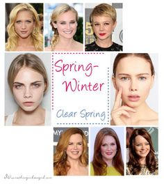 Are You a Spring-Winter (Clear Spring)?
