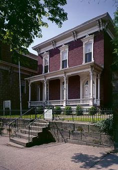 Sherman Birthplace - General William Tecumseh Sherman is best remembered for his… American Civil War, American History, Missouri Compromise, Shermans March, Lancaster Ohio, Fairfield County, Ohio River, Civil War Photos, Welcome To The Jungle