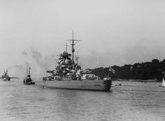 Bismarck battleship rear