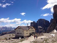 Rifugio Franco Cavazza al Pisciadù, Gruppo del Sella, Dolomiti Italia