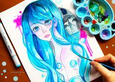 +Rain+ by larienne.deviantart.com on @DeviantArt