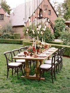wedding reception idea; photo: Marisa Holmes Photography