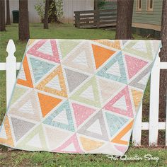 Banner Day Quilt Kit featuring Noteworthy by Sweetwater for @ModaFabrics