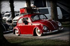 VW bug...low and cool....