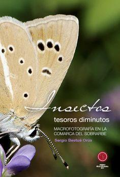 INSECTOS, TESOROS DIMINUTOS: MACROFOTOGRAFÍA EN LA COMARCA DEL SOBRARBE. Bestué Orús, Sergio. Libro con más de 200 fotografías macro de 128 especies de insectos, todos ellos fotografiados en la prepirenaica y pirenaica Comarca del Sobrarbe. Más en http://zaragozaciudad.net/docublogambiental/2016/051201-insectos-tesoros-diminutos-macrofotografia-en-la-comarca-del-sobrarbe.php