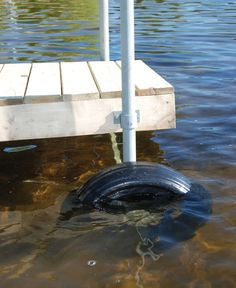Plastic dock wheels are designed for roll-in docks and boat lifts. Made of heavy duty, rotomolded plastic. Large diameter rolls easily on all terrains. Designe