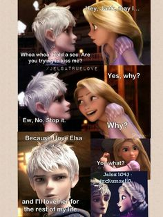 Jelsa always wins! Deal with it! And plus Rapunzel already has Eugene/Flynn!