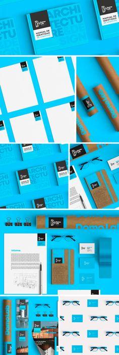 Domo Lab Architecture- Brand Identity on Behance Domo Lab Architecture- Brand Id… - corporate branding design Web Design, Logo Design, Graphic Design Branding, Brochure Design, Design Ideas, Creative Design, Corporate Identity Design, Brand Identity Design, Identity Branding