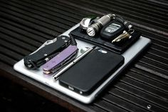 iPad Air Custom Wenger Titanium Puccini Leather Wallet