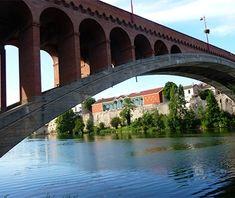 Longest Masonry Arch Bridge Span: Pont de la Libération, Villeneuve-sur-Lot, France.