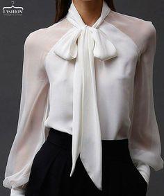 блузка с бантом - Поиск в Google