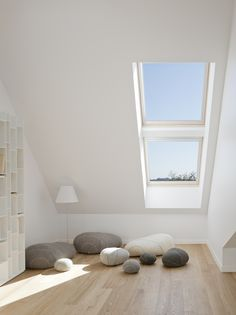VELUX Model Home Maison Air & Lumiere. Meer inspiratie doe je op via www.velux.nl #VELUX