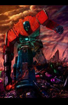 Optimus Prime by Livio27