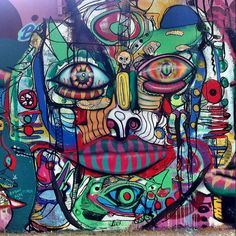 Mexico city photo by gregory schick graffiti pinterest for Aztec mural tattoos