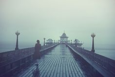 Clevedon Pier by Simple Village Girl, via Flickr