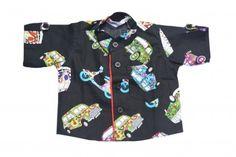 6d8c2e668 Buy Dashing Black Baby Boy Cotton Printed Shirt.  formaldresss  shirt   formalshirt  . pinkblueindia.com