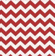 Amazon.com: SheetWorld Fitted Crib / Toddler Sheet - Red Chevron Zigzag - Made In USA: Baby