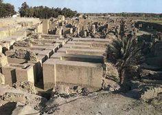 Ruinas  de los Jardines Colgante de Babilonia