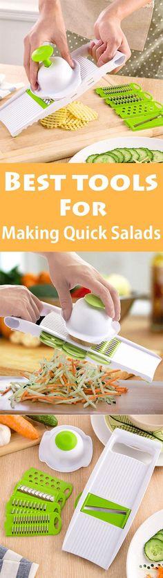 Best tools for making quick salads-5 PCS Multipurpose Garden Stuff Shredder Zesters