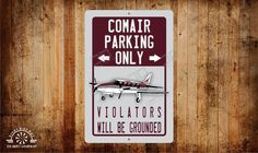 Comair Parking Only Metal Sign, Aluminum, High Quality UV coated, google this. by RightSideOutShirts on Etsy Swimming Pool Rules, Image Chart, Pool Signs, Custom Metal Signs, Aluminum Signs, Luau Party, Thing 1 Thing 2, Tee Shirt, How To Find Out