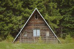 A-frame in Gruň, Czech Republic. Contributed by Vojtech Bruzek.