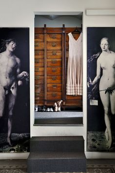 Extreme closet, from the home of designer Teresa Helbig