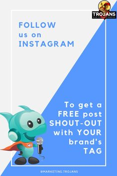 Follow us on Instagram @marketing.trojans daily we will give a post / story shout-out in our channel just for free. Shout Out, You Got This, Channel, Family Guy, How To Get, Sign, Explore, Marketing, Free