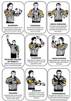 A basic guide for rules in the NHL Covers everything from the field of play to stoppages and penalties.