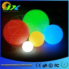 (64.60$)  Watch now  - waterproof LED Ball for swimming pool PE materail IP65 Floating /LED floating ball for garden