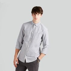 Shop Frank And Oak for modern eco-friendly clothing, ethically sourced and designed for good living. Try our Style Plan, our monthly subscription box. Menswear, Man Shop, Shirt Dress, Clothes For Women, Womens Fashion, Mens Tops, How To Wear, Shirts, Shopping