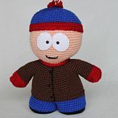 Ravelry: Stan Marsh (South Park) pattern by Star Squared