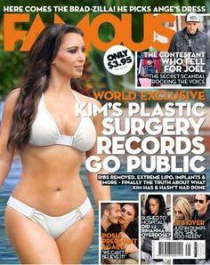 Kim Kardashian on Famous Magazine Australia 21 May 2012